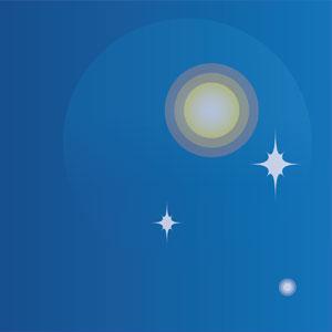 ソウルの夜空