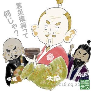 豊臣秀吉with西笑承兌・加藤清正